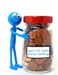 52 weeks of saving image